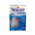 Nexcare Sensitive skin 4 pleisters